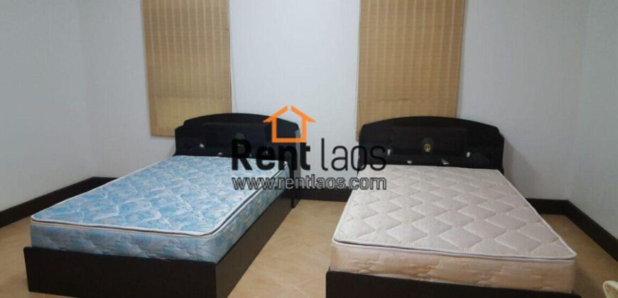 Nice house for rent near thatluang with large garden