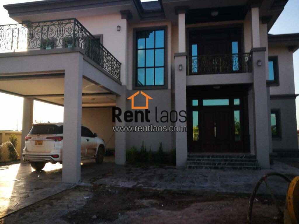 Vientiane Brand new modern style house for sale Near southern bus station