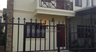 Town house with fully furnished for rent in Lao and International Schools Zone, near Saphanthong market