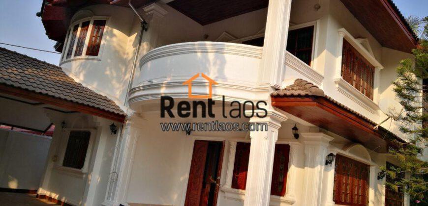 House for rent near Chinese embassy ,Korea embassy ,Kiettisak school ,EDL office