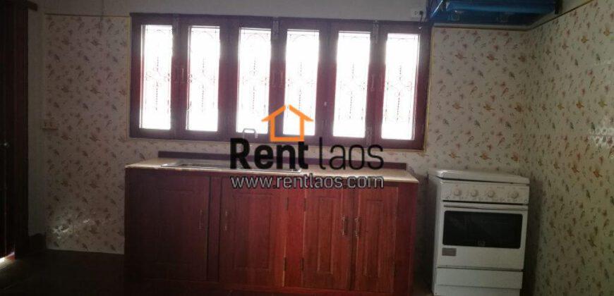house for rent in Sisattanak near  VIS, Panyathip and Kietisak, Fresh market , fitness centers, restaurants and shops
