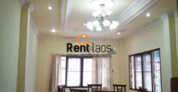 Modern house near Kettisack ,Chinese embassy for rent with fully furnished.