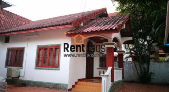 Adorable house near Thai consulate and Sengdara Fitness for rent.