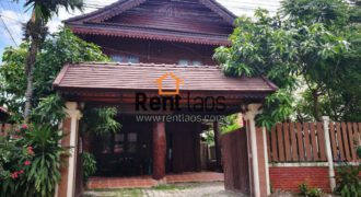 Lao style House near PIS ,VIS for Rent