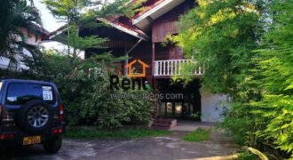 Lao style house near Thai consulate for RENT