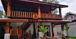 Lao style House near Australian embassy ,Sounmone Market
