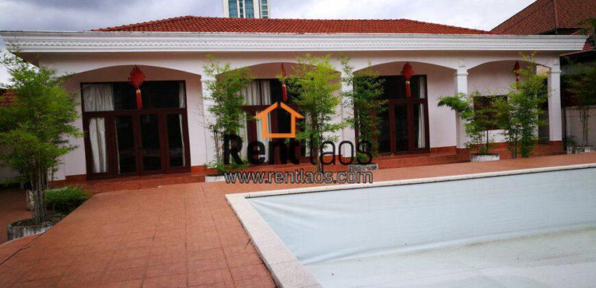 Gorgeous House Near Thai consulate ,PIS ,Sengdara for RENT