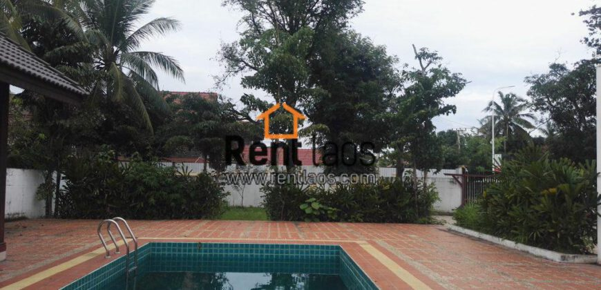 House with Swimming pool Near china embassy for RENT