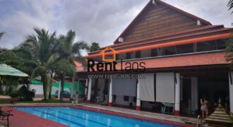 Gorgeous Lao Modern style house with swimming pool  near Russia Embassy for RENT