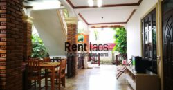 Beautiful affordable Lao french style House Near Thatluang ,Thai consulate