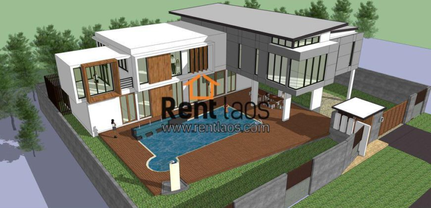 House with swimming pools for Sale Near clock tower