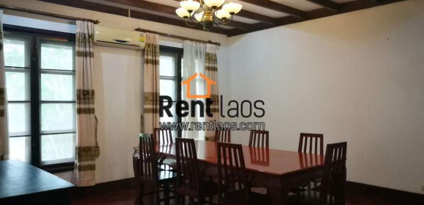 Beautiful Lao-modern style house near PIS,Joma phonthan for RENT