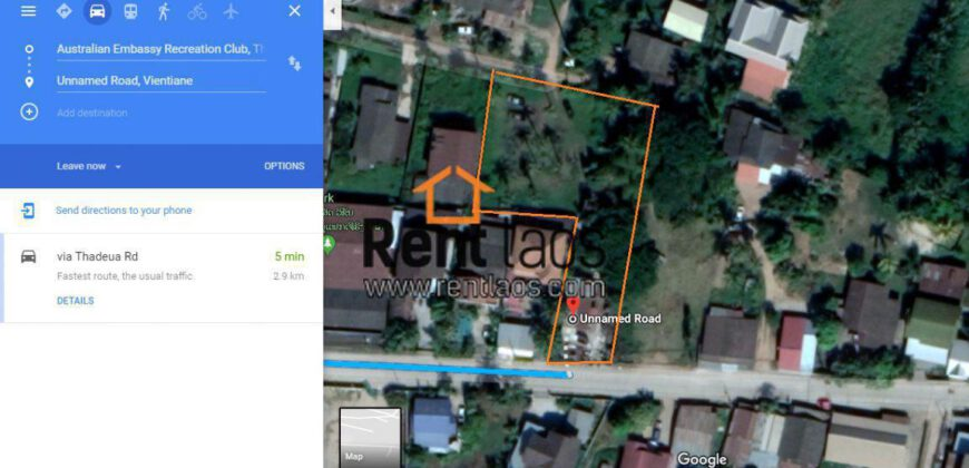 vacant land right on concrete road near Clock tower for sale