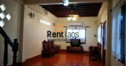 Affordable Lao style house near VIS,KIP,PIS for RENT