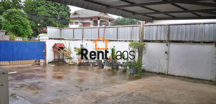 House near Vientiane internation school for RENT