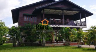 Lao style house near VIS for RENT