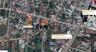 Land for Sale Near Vientiane new highest Mall(KM5)