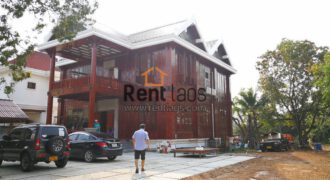 Pre booked-Brand new Lao modern style house near VIS for RENT