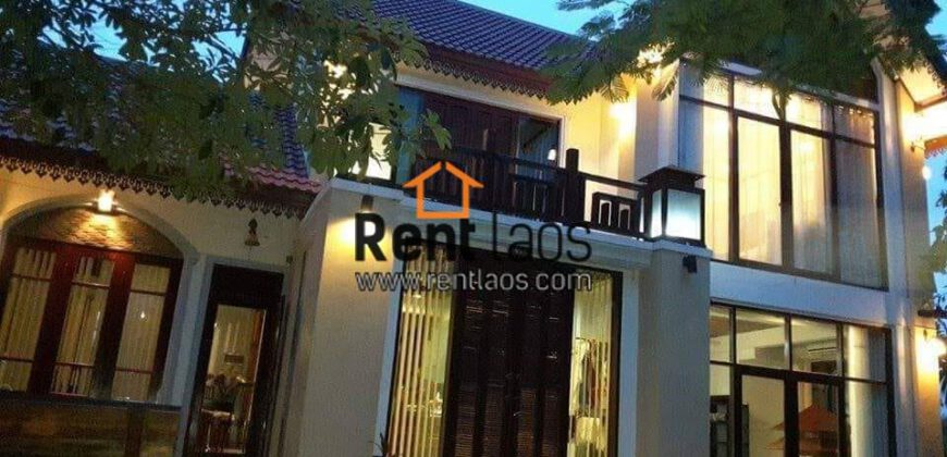 Lao modern style house for RENT near 103 hospital