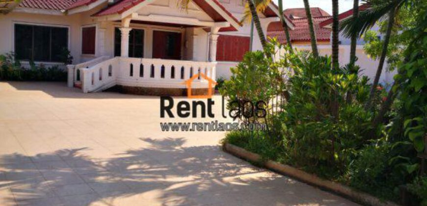 House near National University of Laos FOR RENT