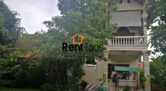 Cozy, beautiful house near Mekong riverside (Wattay ) for RENT