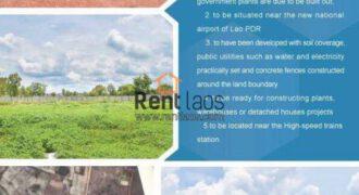 For Sale Land FOR SALE -SOKNOY ດີນບ້ານໂຊກນ້ອຍຕ້ອງການຂາຍ