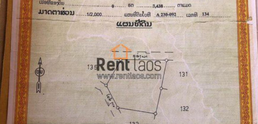 Vangvieng land FOR SALE-near tham Jang cave
