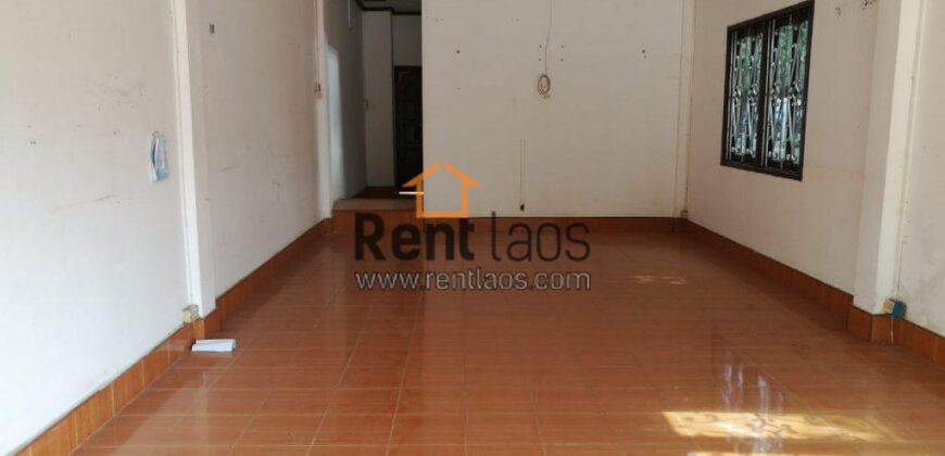 Shop house for rent near Lao-American college