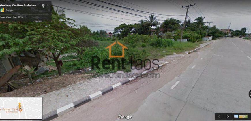 Diplomatic vacant land FOR SALE-ດີນຢູ່ເຂດສະຖານທູດຕ້ອງການຂາຍ