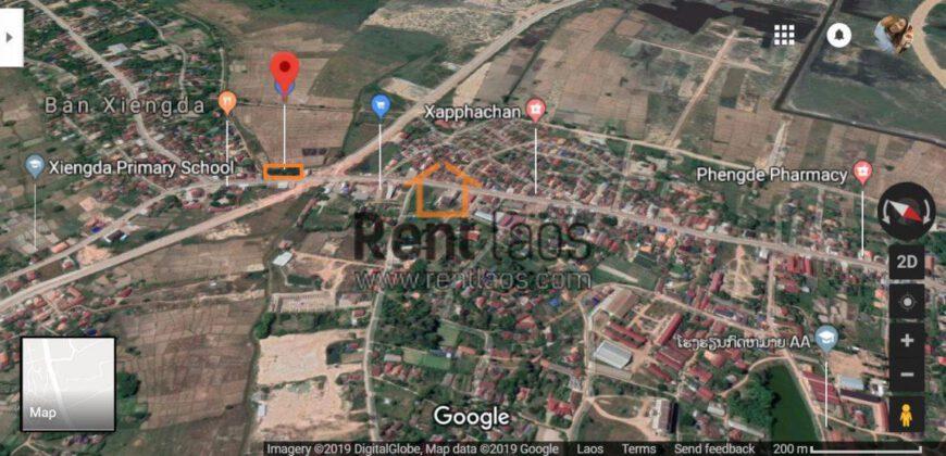 Land near 103 hospital ,Braza B for sale ດີນຕິດທາງຄອນກີດບ້ານຊຽງດາ