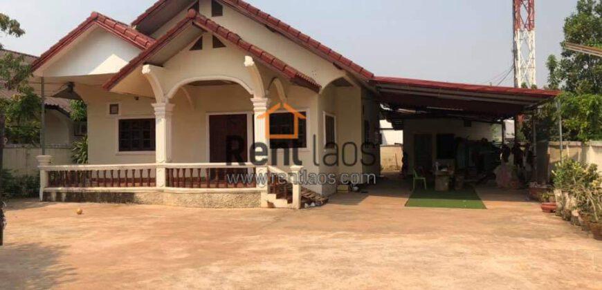 House for rent near National university of Lao(Dongdok)