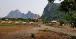 tourist site Land in vangvieng city for sale