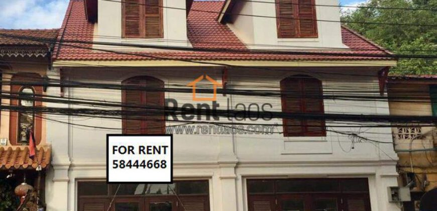 Shop house in city center for RENT