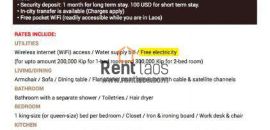 brand new service apartment/Office space FOR RENT