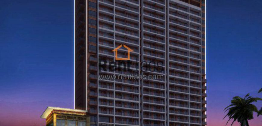 apartment in city of Vientiane ( the highest complex mall)
