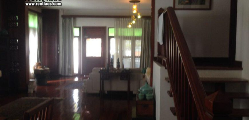 house with swimming pool near Chinese embassy FOR RENT
