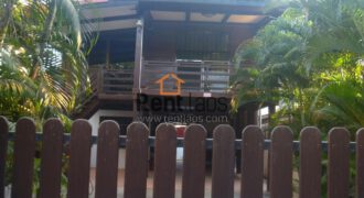 Lao style house near riverside FOR SALE