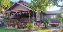 Lao traditional house near Thai consulate for Rent