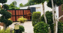 Modern pool house near new French school for sale