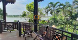 Mekong River view house for rent