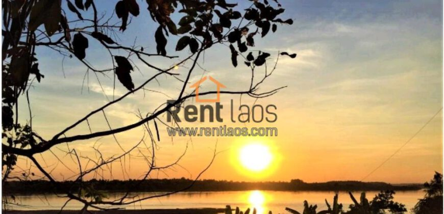 house near Mekong riverside for rent