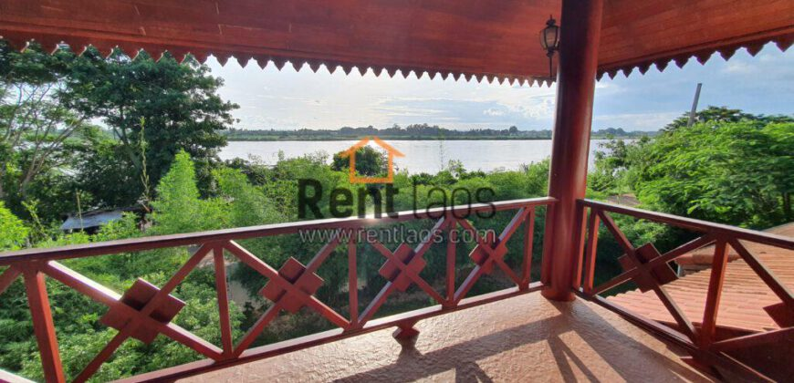 Mekong Riverview house for rent